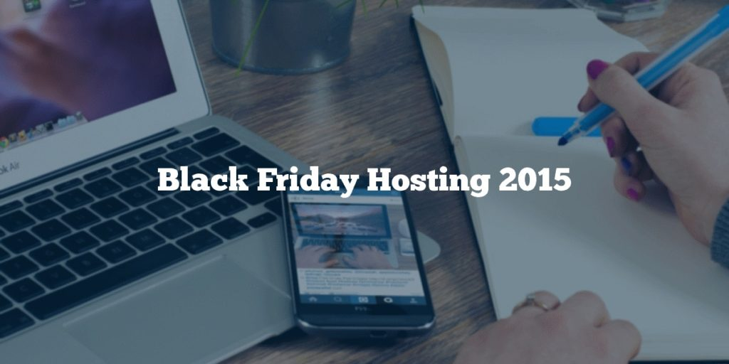 Black Friday Hosting 2015