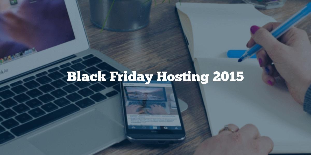 Black Friday Hosting 2015